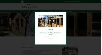Log Cabins   Garden Offices   Sheds   Abbey Garden Buildings