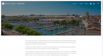ANGELIQUE SAWTELL INTENATIONAL REAL ESTATE, Charente Maritime
