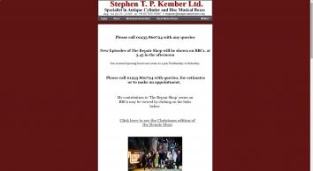 Stephen T P Kember