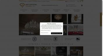 Křišťálové lustry, luxusní lustry,  lustry, lampy, svítidla   ArtCrystal Bořivoj Tomeš