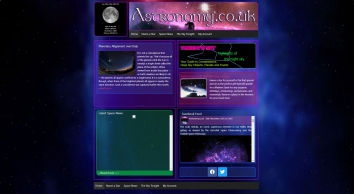 Astronomy.co.uk - Star Naming Service   Space News   The Sky Tonight