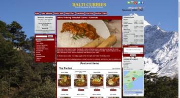 Balti Curries