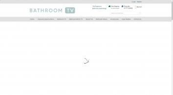 Bathroom TV: 19 - 42 Inch Waterproof Televisions & Speakers