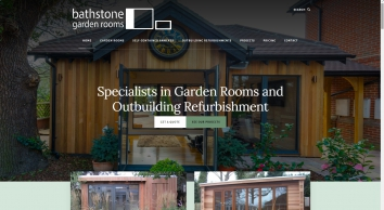 Specialists in Building & Upgrading Garden Rooms & Outbuildings - Bathstone Garden Rooms