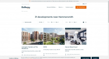 Bellway Homes | New homes for sale in Hammersmith, London