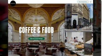 Benugo - cafes and restaurants in the most beautiful places