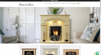 Buy Marble Hearth for Surrounding a Fireplace