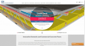 CDI Innovative Construction Materials Ltd