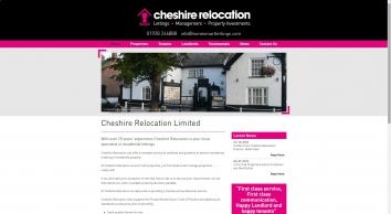 Cheshire Relocation