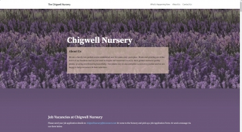 Homepage - The Chigwell Nursery