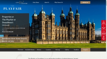 Property for sale in The Playfair, Donaldson's, Edinburgh | City & Country