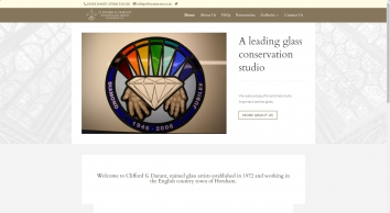 Clifford G Durant and Son - Accredited Master Glass Painters, Horsham.