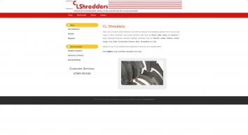 CL Shredders, Specialists in Second Hand Shredders, Bespoke Industrial Machines, Granulators, Balers, Recycling Equipment & Repairs