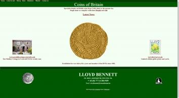 Lloyd Bennett Coins & Banknotes
