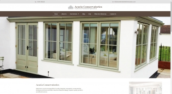 Acacia Conservatories | Traditional Hardwood Conservatory Specialists