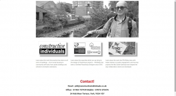 Phil Bixby | Constructive Individuals | My Future York - The website for Phil Bixby\'s work and ideas