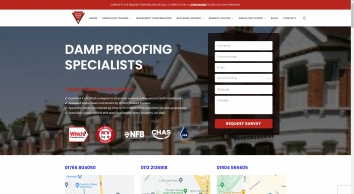 Danford Brewer  Ives Damp Proofing  Timber Specialists