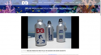 Reuse Reduce Recycle in Sudan on Don Questo