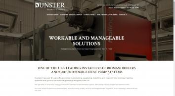 Dunster Biomass Heating