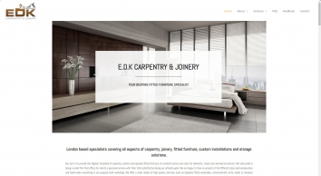 London Carpentry and Bespoke Fitted Furniture   E.D.K Carpentry & Joinery   Phone: 020 8614 0725
