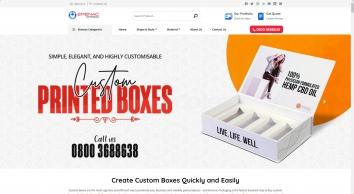 Custom Boxes   Custom printed boxes with logo   Custom boxes wholesale   Emenac Packaging UK