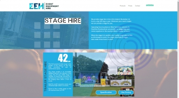 Event Equipment Hire - Stage Hire