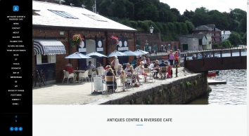 Exeter\'s Antiques Centre on the Quay