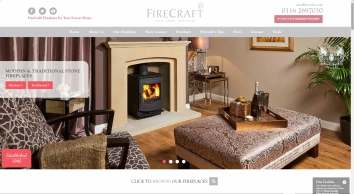 Firecraft Solid Stone Fireplaces