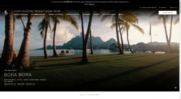 Bora Bora Vacation Resort   5-Star   Four Seasons Resort Bora Bora