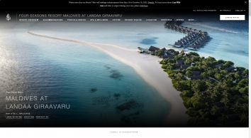 Maldives Luxury Resort   Four Seasons Maldives Landaa Giraavaru