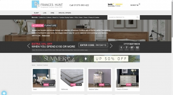 Frances Hunt Bedroom Furniture
