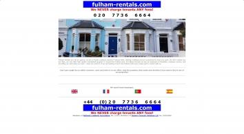 Fulham Rentals | London, SW6
