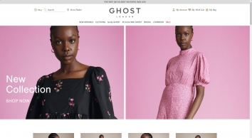Ghost London | Buy Dresses, Bridesmaid Dresses | Garment Dye & Flowing Fabrics