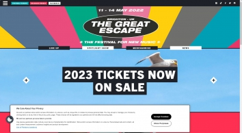 The Great Escape - The Festival For New Music