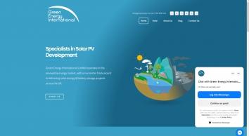 Commercial Solar Panels for Businesses | Green Energy International