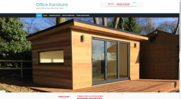 Garden Office Furniture | Garden Offices UK, Work From Home With Nice Furniture