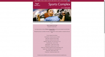 Haileybury Sports Complex - Hertfordshire Leisure Centre and Swimming Pool
