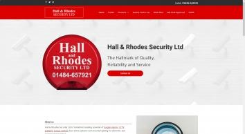 Hall & Rhodes Security Ltd