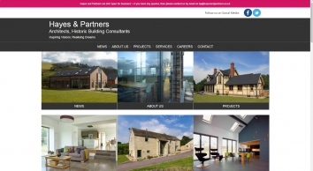 Hayes & Partners - Architects, Historic Building Consultants