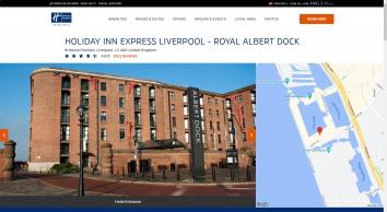 Cheap Budget Hotels In Liverpool Albert Docks | Holiday Inn Express Liverpool