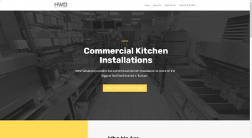 HWD Solutions   Commercial Kitchen Installation Company