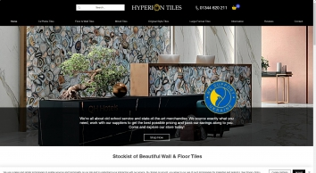 Quality Porcelain Floor Tiles | Hyperion Tiles Ltd