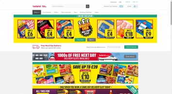 Iceland Foods   Register & Shop   Free Next Day Delivery