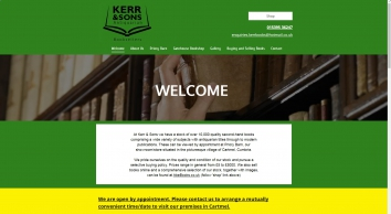 Kerr & Sons Antiquarian Booksellers