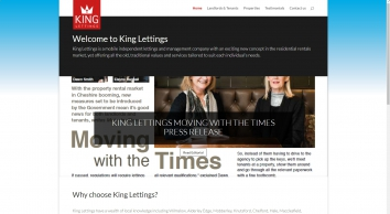 King Lettings, Knutsford