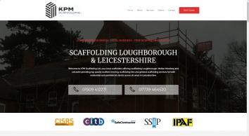 Scaffolding Loughborough - Scaffolding Leicester - KPM Scaffolding Ltd