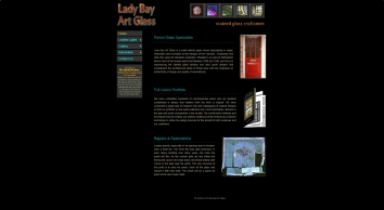 Lady Bay Art Glass - Stained Glass Specialist Repairers and Makers. Established 1993.
