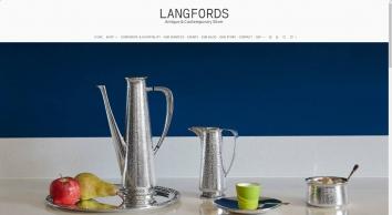 Langfords - Antique & Contemporary Silverware - Langfords