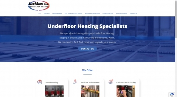 Lee Mick Ltd - The Home of Wet Underfloor Heating