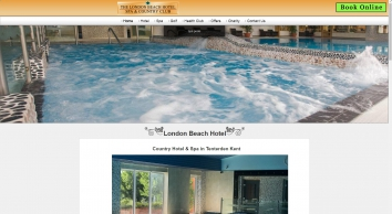 Hotel with Luxury Spa Breaks and Golf in Tenterden, Kent